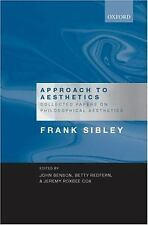 Approach to Aesthetics : Collected Papers on Philosophical Aesthetics by...