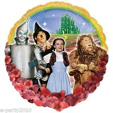WIZARD OF OZ FOIL MYLAR BALLOON ~ Birthday Party Supplies Dorothy Helium