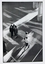 Rene Burri•Men watching Women•Brazil Street Photo 20x28 Poster Published France