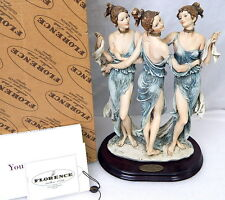Rare Giuseppe Armani Gruppo The Three Graces 1256C MIB Double Signed LE 281/3000