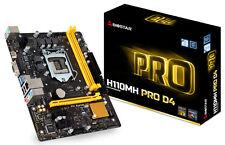 Biostar H110MH PRO D4 Motherboard LGA1151 HDMI/ VGA/ SATA3/ USB 3.0