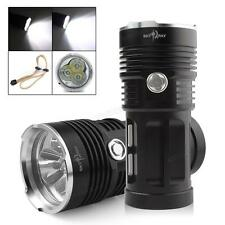 SKYRAY 60W 3 x CREE XM-L T6 LED 3 Modes 6000LM Outdoor LED Flashlight Torch