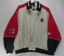 Rare Vintage 1992 Air Jordan VII Nike Warm Up Windbreaker Jacket Broken Zipper