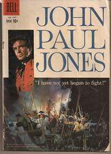 DELL FOUR COLOR #1007 DELL 1959 JOHN PAUL JONES MOVIE ROBERT STACK PHOTO CVR VG