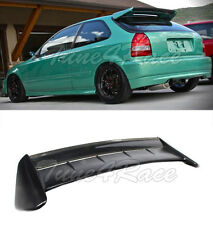 For 96-00 Civic EK9 SEEKER Style Carbon Roof Spoiler Wing Kit 3Dr Hatchback