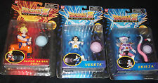 RARE Dragon ball Z figure BLASTING ENERGY SAIYAN GOKU VEGETA FRIEZA MOC LOT