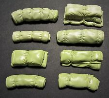 1/35th scale rolls and tarpaulin stowage, tamiya Meng dioramas Set 4
