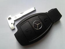 GENUINE MERCEDES BENZ CLASS E S C SLK CLK COUP VITO ETC 2BT REMOTE UNCUT KEY FOB