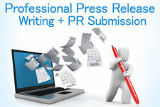 Professional Press Release Writing + 30 Press Release Distribution  - Google SEO