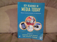 Key Readings in Media Today : Mass Communication in Contexts FREE SHIPPING!