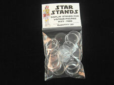 Pack of 50 Star Wars Vintage Action Figure Display Stands Palitoy Kenner 1977
