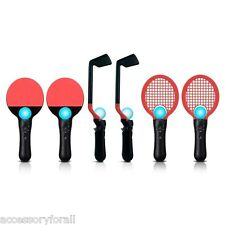 8 in 1 Competition Sports Pack Golf Tennis PingPong for Sony PS3 PS Move Game