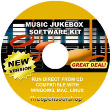 PRO Media Musica Raccolta di gestione -- PC JUKE-BOX HARD DRIVE LETTORE AUDIO CD
