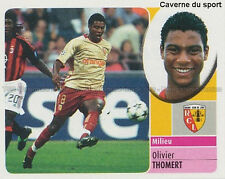 OLIVIER THOMERT # RC.LENS HERCULES.CF STICKER  PANINI FOOT 2003 ~