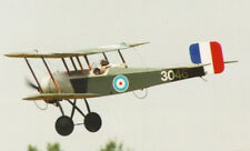 1/6 Scale British WW-I Bristol Scout Biplane Plans and Templates