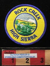 CALIFORNIA PATCH ~ Rock Creek High Sierra National Forest Campground 62E4