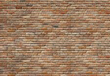 Giant photo wallpaper RED BRICK WALL 368x254cm wall mural home decor