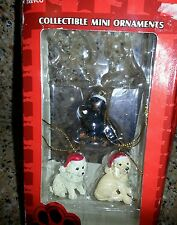 Mini Dog lot Christmas Ornaments Holiday Decor Trevco Purebred Collectibles c11