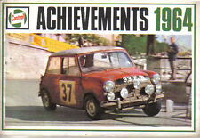 Castrol Achievements 1964 Racing + Rallying successes Air Water Car Motorcycle