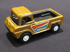 """Vintage 1969 Tootsie Toy """"Pick-Up"""" Truck Gold Color With Hitch ~ Excellent"""