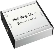 StageLine Monacor DMX-510USB USB DMX Controller PA