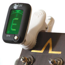 JSI CT-5 Black Mini Clip Digital Tuner - Chromatic-Guitar-Bass-Violin-Ukulele