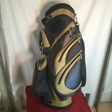 Bag Boy Bag Full Zip Golf Club Wheeling Travel Bag MINT CONDITION