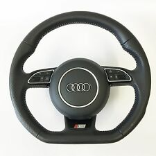 Audi S Line A3 S3 8V RS Q3 A1 steering wheel Flat Bottom Multifunction