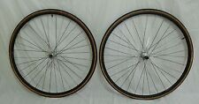 Campagnolo Chorus 700c Tubular 32H Wheelset Assos Swiss Made Rims Bladed Spokes