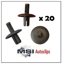 20 x AUDI Wheel Arch Lining Clip Fastener Retainer Expanding Rivet 4D0-807-300