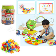 78Pcs Magnetic Letters Numbers Alphabet Capital & Lower Case Learning Toy New