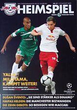 Programm UEFA CL 2009/10 FC Salzburg - Maccabi Haifa