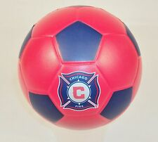 Chicago Fire FoamHead Mini Indoor/Outdoor Soccer Ball ~ MLS Licensed Merchandise