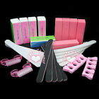 25pc Sanding Block Manicure Acrylic UV Gel Nail Art Files Buffing Brush Set Kit