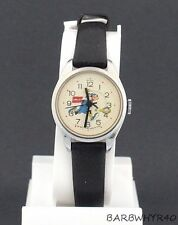 Vintage wind-up Goofy Character Watch Playing Tennis by Bradley for Disney