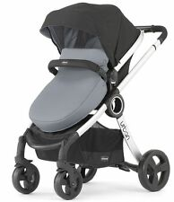 Chicco Urban 6-in-1 Modular Single Baby Stroller Coal FREE EXTRA COLOR PACK NEW