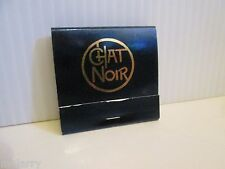 CHAT NOIR ATLANTIC CITY NJ BOARDWALK PLAYBOY CLUB CASINO MATCHES MATCH BOOK