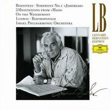 "Bernstein: Symphonie No. 1 ""Jeremiah""; 3 Meditations from ""Mass""; On the Waterfr"