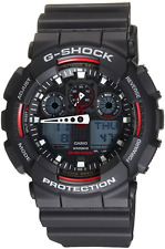 Casio G-Shock GA-100-1A4  Mens Watch 200M Diver  + watch strap ga100 spair