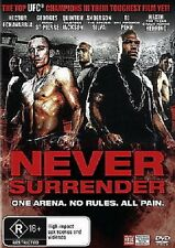 NEVER SURRENDER – DVD, UFC, GEORGES ST PIERRE, ANDERSON SILVA, SEALED BRAND NEW