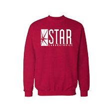 STAR Laboratories Sweatshirt Jumper The Flash S.T.A.R. Labs ALL SIZES