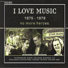 I Love Music 1975-1979 No More Heroes 2004 3CD 8711539017903 punk new wave pop