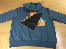 Palace Skateboards Tri-Coco Chocolate Bar Pullover Hoodie Sweater Slate Gray XXL