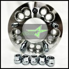 "2 WHEEL ADAPTERS SPACER 5X5 OR 5X5.5 TO 5X4.75 | 12X1.5| 1.25"" INCH 