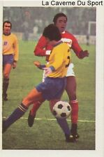 N°151 JEAN-PIERRE ADAMS # NIMES OLYMPIQUE STICKER AGEDUCATIF FOOTBALL MATCH 1973
