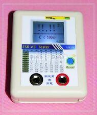 ESR Tester Capacitor Resistance Inductance Milliohm Meter LCR Online test led
