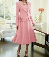 Ladies Ashro Leah 3 Piece Church Skirt Suit With Shell 3 Piece Size 10 $189.00