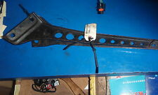 SKIDOO BELLY PAN BRACES INNER CORNERS LEFT AND RIGHT GOOD USED 1996-99 S CHASSIS
