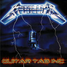 Metallica Guitar & Bass Tab RIDE THE LIGHTNING Lessons on Disc