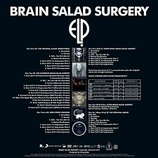 Emerson Lake and Palmer Brain Salad Surgery  super deluxe 4cd,dvd,vinyl yes &
